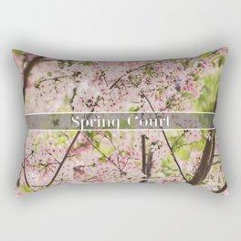 Spring Court Rectangular Pillow
