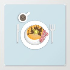 Breakfast Time! Canvas Print