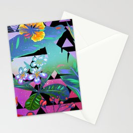 Tropical Space #1 Stationery Cards
