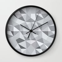 3d Wall Clocks featuring 3d by lllg