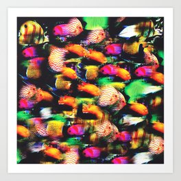 Fish and Fishes Art Print