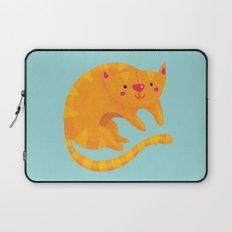 Orange cat Laptop Sleeve