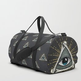 All seeing eye of God Duffle Bag