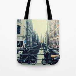 Coffee street- Amsterdam Tote Bag