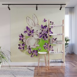Lilac the Easter Bunny Wall Mural