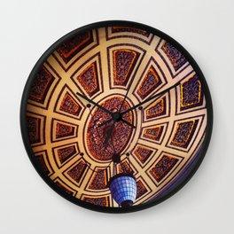 Sun Above Wall Clock