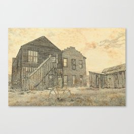 Ghost Town Bodie California Canvas Print