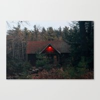 cabin Canvas Prints featuring Cabin by Brian Cardinal