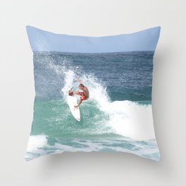 Surf! Throw Pillow