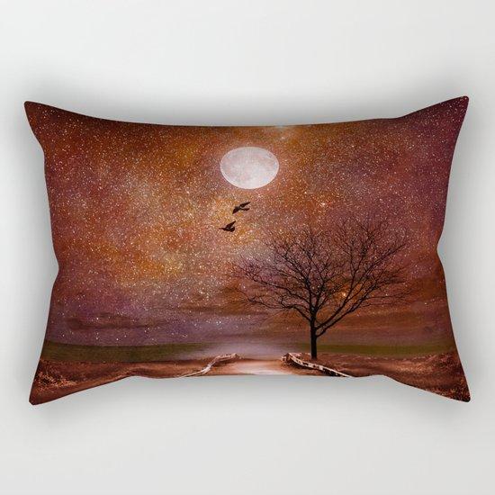 The cosmic touch Rectangular Pillow