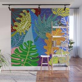 Lush Leaves Wall Mural