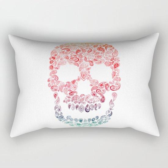 Death By Paisley Rectangular Pillow