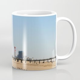 Power Station Beach Coffee Mug
