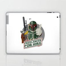 Freelance Bounty Hunter Laptop & iPad Skin