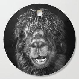 Alpaca. Happy Dayz Cutting Board