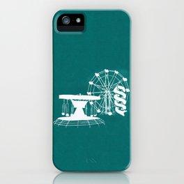 Seaside Fair in Turquoise iPhone Case