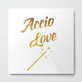 Accio Love Metal Print