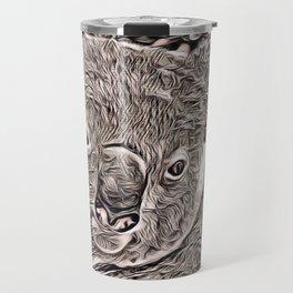 Rustic Style - Koala Travel Mug