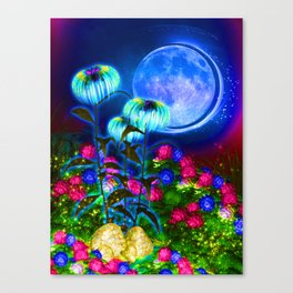 Sparks of Gold Canvas Print