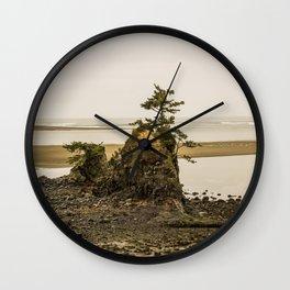 Islas en la Costa de Oregon Wall Clock