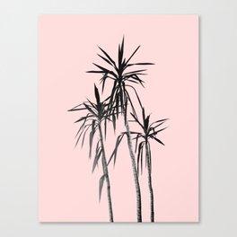 Palm Trees - Blush Cali Summer Vibes #1 #decor #art #society6 Canvas Print