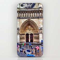 Through the rain iPhone & iPod Skin