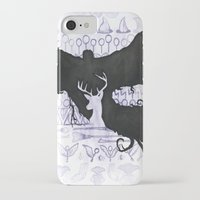 harry potter iPhone & iPod Cases featuring Harry Potter by Carmen McCormick