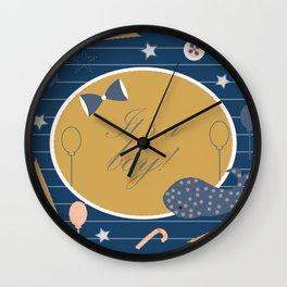 Baby Shower Wall Clock
