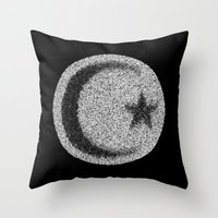 islam Throw Pillows featuring Many Paths of One Humanity - 4 of 7 - Islam by ART.KF