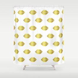 Kissable Lips Shower Curtain