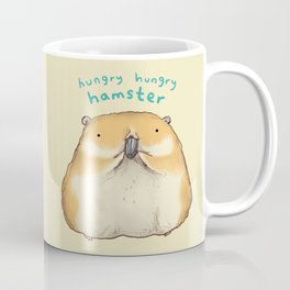 Hungry Hungry Hamster Coffee Mug