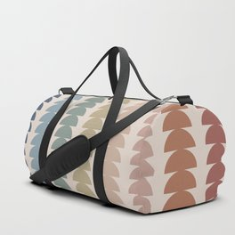 Maude Pattern- Vintage Multicolor Duffle Bag