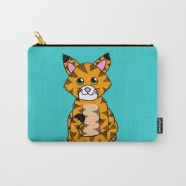 Little ginger tabby Carry-All Pouch