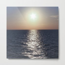 Sunset, Santorini Metal Print