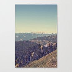 Last Days of Summer Hike Canvas Print