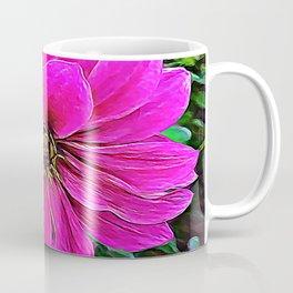 Pink Flower of Delicate Balance Coffee Mug