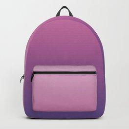 Pink Ultra Violet Ombre Gradient Pattern Backpack