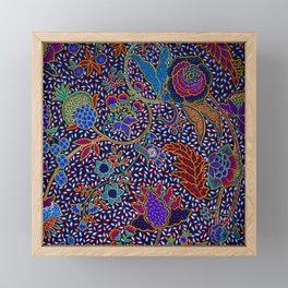 Tahitian Island Style Exotic Pattern Framed Mini Art Print