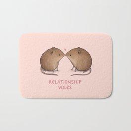 Relationship Voles Bath Mat