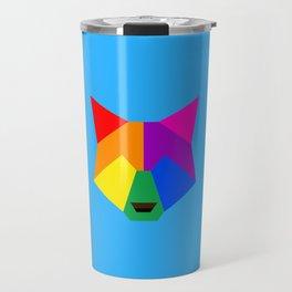 Pride wolf Travel Mug