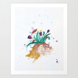 blazz studios: Bliss Art Print