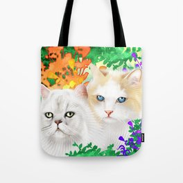 Sam and Sebastian Tote Bag