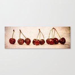 Cherries Panorama Canvas Print