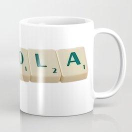 Enola Letter Tiles 2020 Coffee Mug