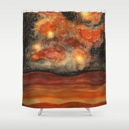 Beautiful Galaxy II Shower Curtain