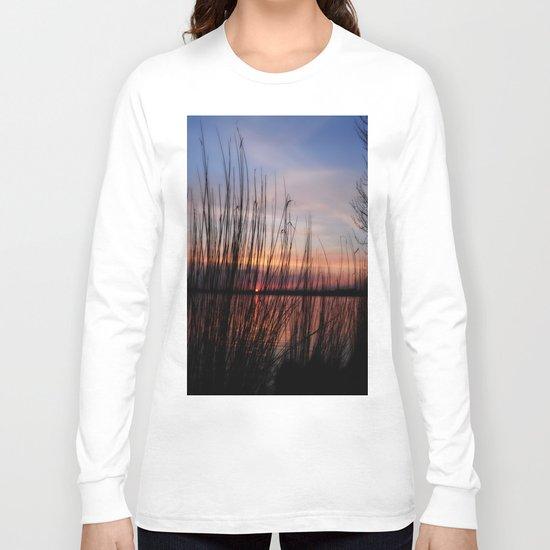 sunset nature Long Sleeve T-shirt