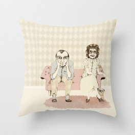 45 years married! Throw Pillow