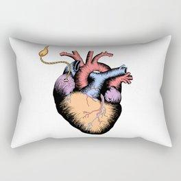 burning fuse Rectangular Pillow