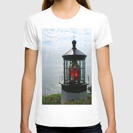 The Red Beacon On Tillamock Bay T-shirt