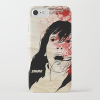 shining iPhone & iPod Cases featuring Shining by SeanAndOnAndOn